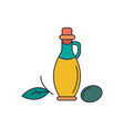 olive oil icon cartoon style vector image vector image