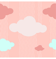 Pink Clouds Pattern Background
