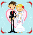Romantic Wedding vector image