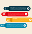 Infographics design element modern information vector image