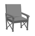 chair and folding symbol vector image vector image