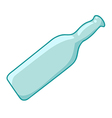 empty bottles vector image