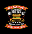 food and drink quote good for print design vector image vector image