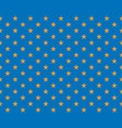 golden star on a blue background - element for vector image vector image
