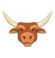 Head of bull icon cartoon style vector image vector image
