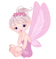 Listening fairy vector image vector image