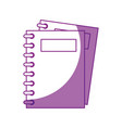note books isolated vector image vector image