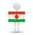 Republic of Niger vector image vector image