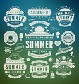 Retro summer design elements