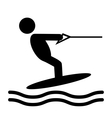 Summer Water Sport Pictograms Flat People Icons vector image vector image