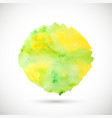 watercolor texture blot vector image vector image