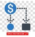 Cashflow Eps Icon vector image vector image