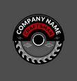craftsman company logo vector image