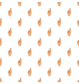 Fingers crossed pattern cartoon style vector image vector image
