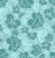 Floral seamless pattern Vintage ornament of rose vector image vector image