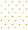 Golden spots background vector image