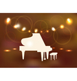 Grand piano vector image