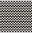 Hand Drawn Horizontal ZigZag Lines vector image vector image