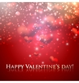 happy valentines day holiday background with vector image vector image
