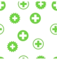 Medical Cross Seamless Seamless Flat vector image vector image