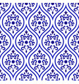 porcelain pattern seamless desing vector image