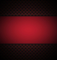 red grill texture background vector image vector image