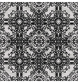 Monochrome ornament Seamless stylized ornamental vector image