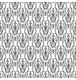 abstract minimalistic ornate seamless pattern vector image vector image