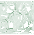 circles seamless background vector image vector image