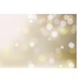 defocused abstract light bokeh background vector image vector image