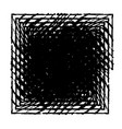 distress square frame vector image vector image