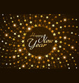 happy new year background with stars vector image vector image