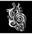 Heart Tribal pattern vector image vector image
