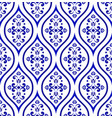 porcelain pattern vector image