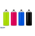spray paint in vector image