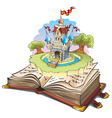 magic world of tales vector image