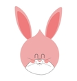 cute baby rabbit vector image