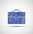 Logo suitcase Stock vector image