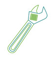 wrench tool repair construction equipment icon vector image vector image