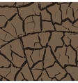 Cracks in the earth vector image vector image