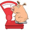 cute pig farm animal cartoon vector image vector image