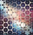 Geometric hexagon abstract background vector image vector image