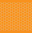 honey combs seamless pattern vector image vector image