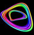 multicolor spectral curve vector image