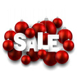 Paper christmas sale vector image