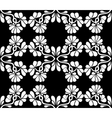 seamless floral vector image vector image
