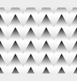 seamlessly repeatable grayscale triangle pattern vector image