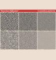 set diffusion reaction seamless patterns vector image