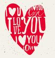 set of labels for design love vector image vector image