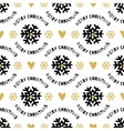 Trendy Christmas seamless pattern Hand-drawn vector image vector image